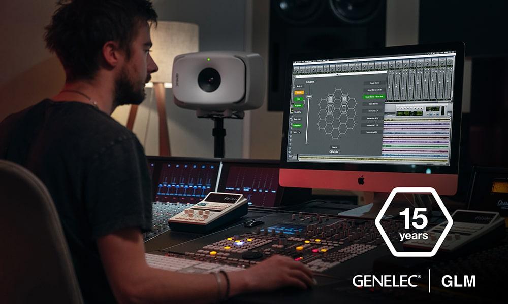 Con el nuevo GLM 4.1, Genelec celebra 15 años de procesamiento digital en monitores de estudio