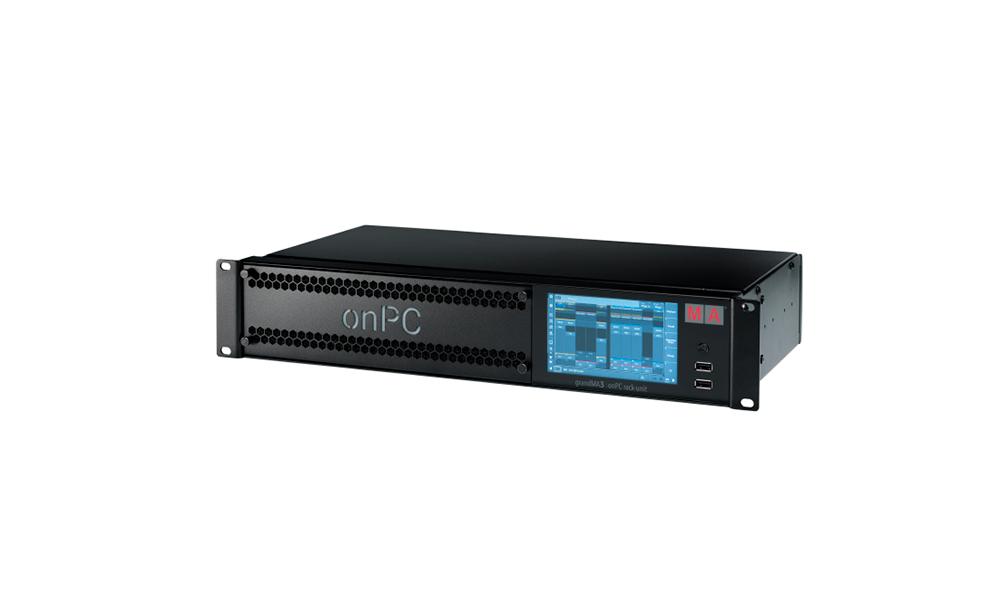 MA Lighting presenta una nueva solución de control grandMA3 onPC en formato rack