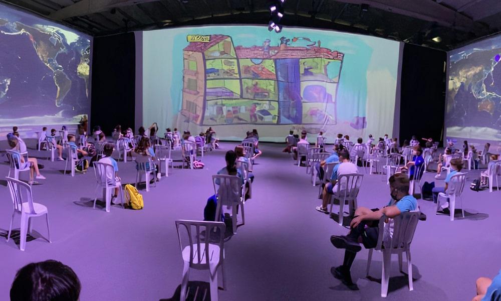 Telemag estrena Spacemap Go de Meyer Sound en la exposición 'Lorca, las costuras del tiempo'