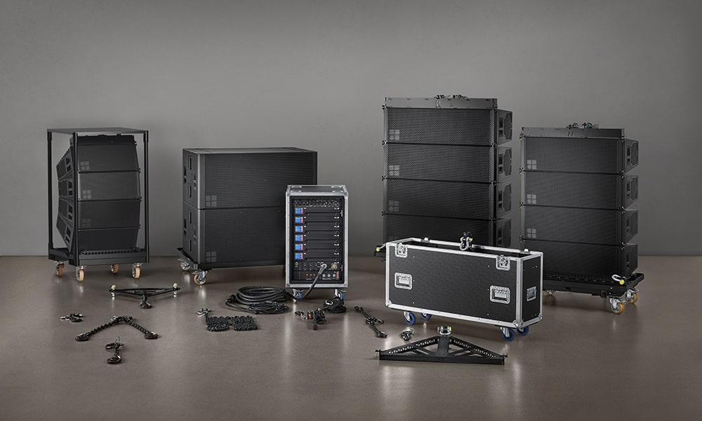 d&b presenta el sistema XSL de arreglo en línea compacto