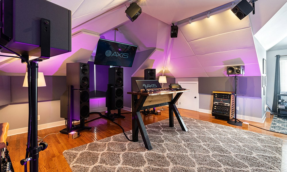 Monitores Neumann para un audio inmersivo en Axis Audio (Nashville)