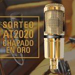 Audio-Technica celebra su éxito de ventas del micrófono AT2020 con una importante donación
